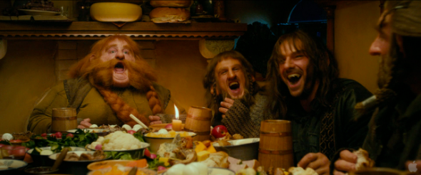lord of the rings dinner
